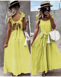 Šaty - kód 4806 - žlutá