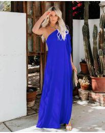 Šaty - kód 5858 - modrá