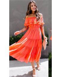 Šaty - kód 699 - oranžová