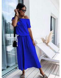 Šaty - kód 4151 - modrá