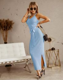 Šaty - kód 6166 - světle modrá
