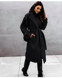 Kabát - kód 410 - černá