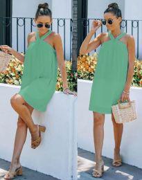Šaty - kód 9103 - mentolová