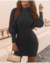 Šaty - kód 4016 - černá