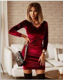 Šaty - kód 4161 - 2 - bordeaux