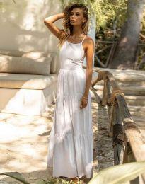 Šaty - kód 2991 - bílá