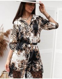 Šaty - kód 3635 - 1 - vícebarevné