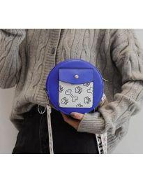 kabelka - kód B163 - modrý