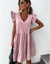 Šaty - kód 211 - růžová