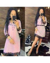 Šaty - kód 1426 - růžová