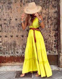 Šaty - kód 0817 - žlutá