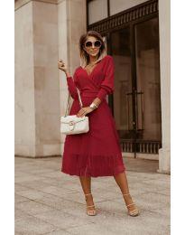 Šaty - kód 9994 - bordeaux