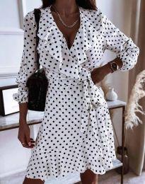 Šaty - kód 0438 - bíla