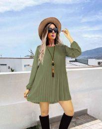 Šaty - kód 1430 - zelená
