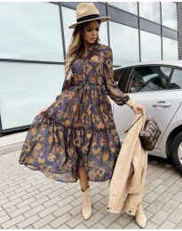 Šaty - kód 9660 - 7 - barevné