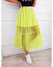 Sukně - kód 0008 - neon žuta