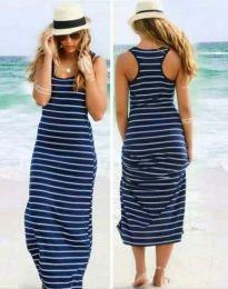 Šaty - kód 0712 - 1 - modrá