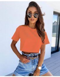 Tričko - kód 608 - oranžová