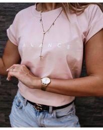 Tričko - kód 3618 - růžova