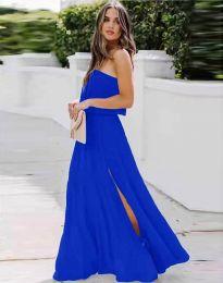 Šaty - kód 8871 - modrá