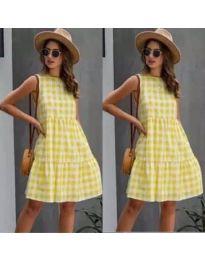 Šaty - kód 2123 - žlutá