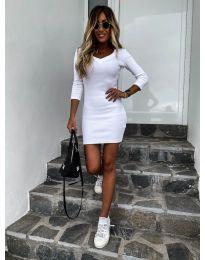 Šaty - kód 4040 - bíla