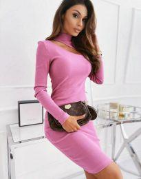 Šaty - kód 11441 - růžova