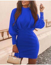 Šaty - kód 4016 - modrá