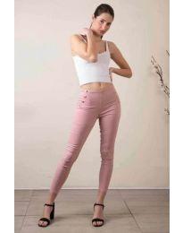 Kalhoty - kód 733 - 1 - růžova