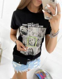 Tričko - kód 2353 - bíla