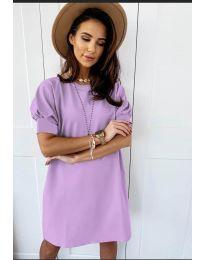 Šaty - kód 9868 - fialová