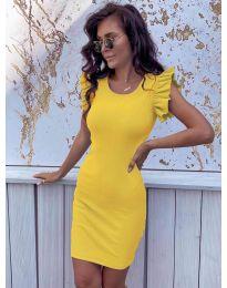 Šaty - kód 199 - žlutá