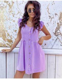 Šaty - kód 3033 - fialová