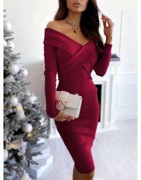 Šaty - kód 6130 - bordeaux
