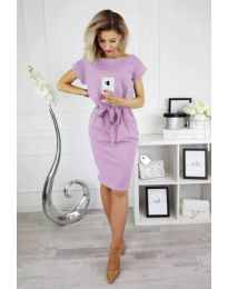 Šaty - kód 774 - světle fialová