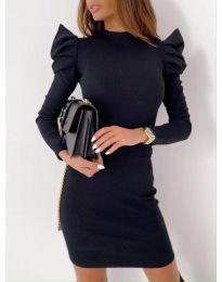 Šaty - kód 9303 - 4 - černá