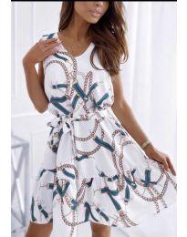 Šaty - kód 344 - bílá