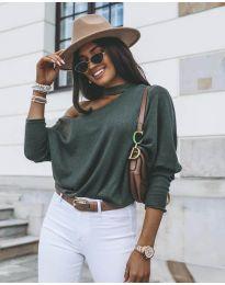 Šaty - kód 5618 - zelená