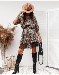 Šaty - kód 3635 - 2 - vícebarevné