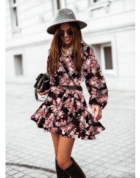 Šaty - kód 134 - 1 - barevné