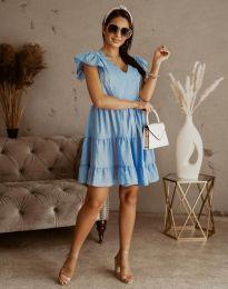 Šaty - kód 6224 - světle modrá