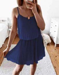 Šaty - kód 8596 - modrá
