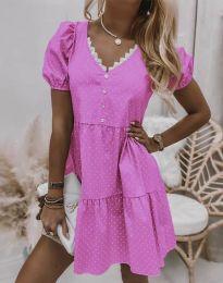 Šaty - kód 8292 - růžová