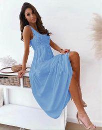 Šaty - kód 4807 - světle modrá