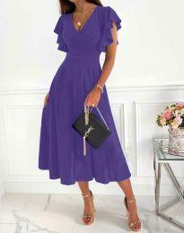 Šaty - kód 1557 - fialová