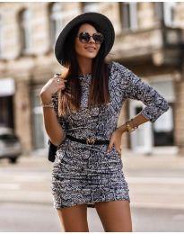 Šaty - kód 326 - 3 - vícebarevné