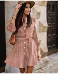 Šaty - kód 3999 - růžová