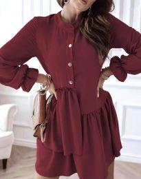 Šaty - kód 2829 - bordeaux