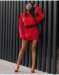 Šaty - kód 8989 - červená