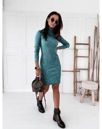 Šaty - kód 5696 - modrá